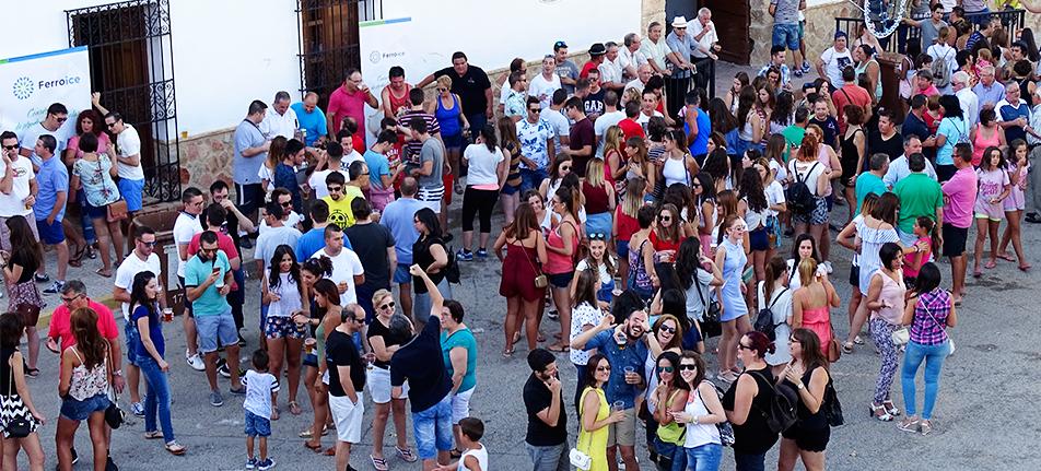 Ferroice® Patrocinador Oficial de las Fiestas Patronales de San Roque 2016 Barrax