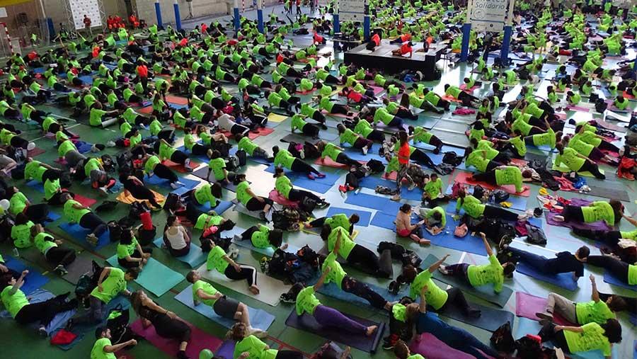 IV Pilates Solidario por AFANION: 73 a Gredos