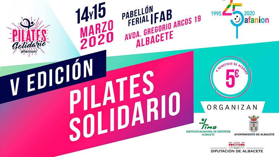 Ferroice empresa copatrocinadora del V Pilates Solidario 25º Aniversario AFANION